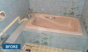 給湯設備工事と浴室のリフォーム